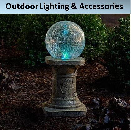 Lighted Lawn Decor