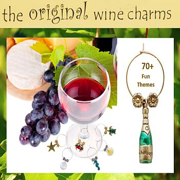 Original Wine Charms