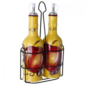 Cucina Italiana Ceramic Oil & Vinegar Cruet Set