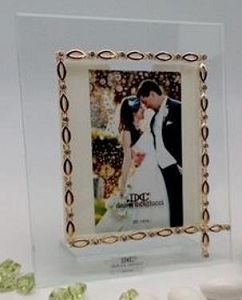Italian Picture Frame - Gold Link Border