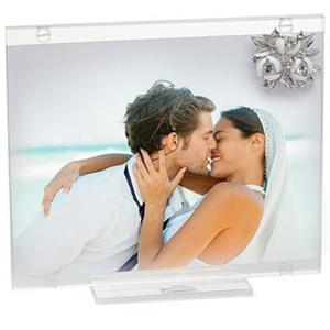 Italian Photo Frame With Swarovski Crystal Brooch