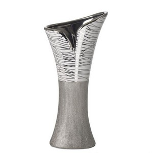 Debora Carlucci Shades-of-Grey Vase - 12 inches