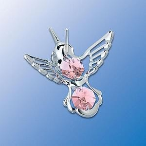 Hummingbird Ornament - Swarovski Crystal - 3 Colors
