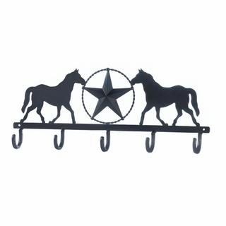 Stallion Ranch Black Wall Hook