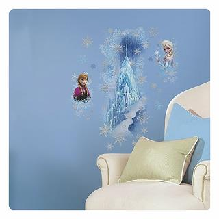 Frozen Ice Palace Elsa And Anna Giant Wall Decal