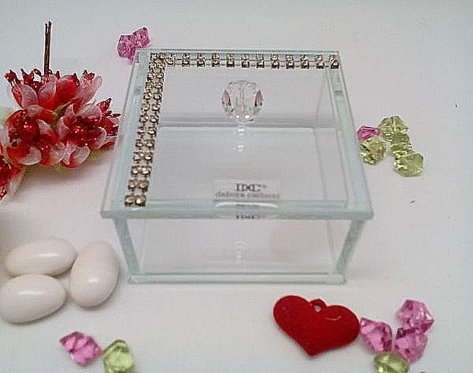 Trinket Jewelry Box - Swarovski Elements Accents