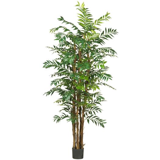 7 foot Bamboo Palm Silk Tree