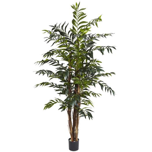 5 foot Bamboo Palm Silk Tree