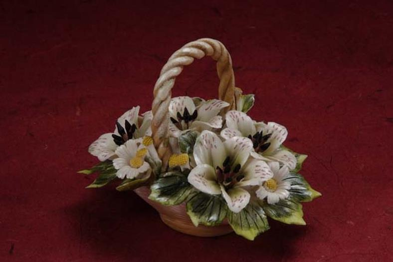 Porcelain Flower Bouquet