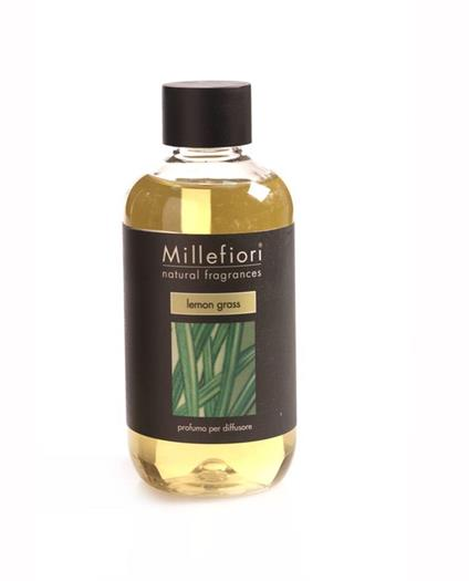 Millefiori Milano Natural Fragrance Diffuser Refill - 8.5 oz - Lemon Grass