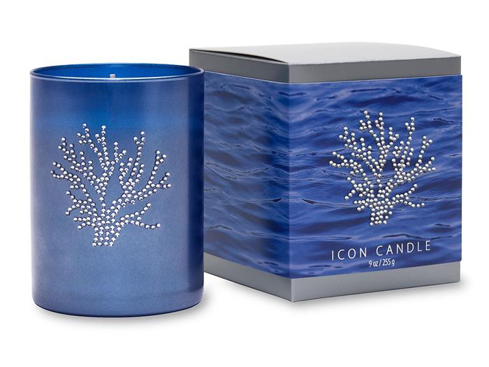 Coral Icon Candles