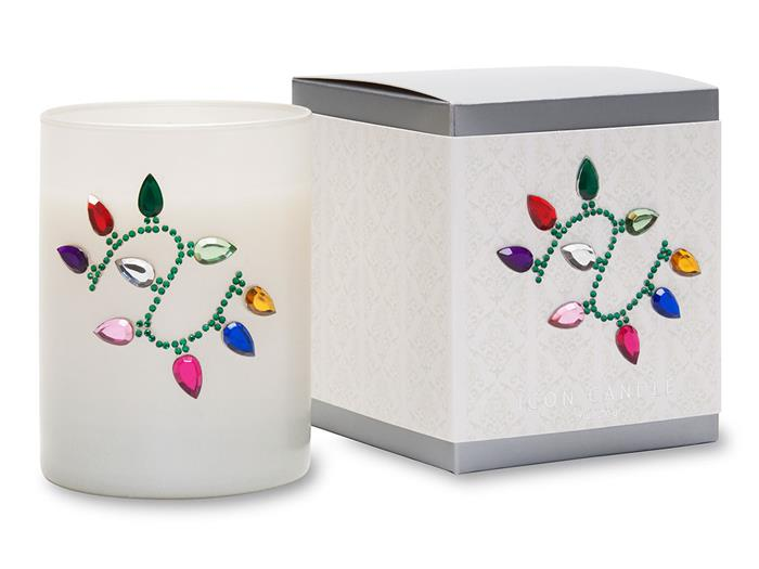 Christmas Lights Icon Candle