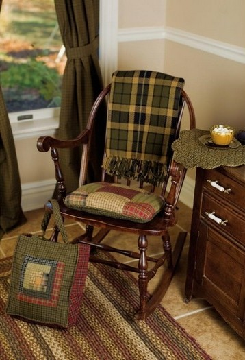Tea Cabin Patchwork Chair Pads