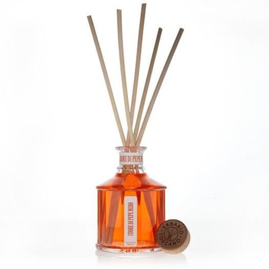 Erbario Toscano Luxury Fragrance Diffuser - 8.8 oz - Pepe Nero (Black Pepper)