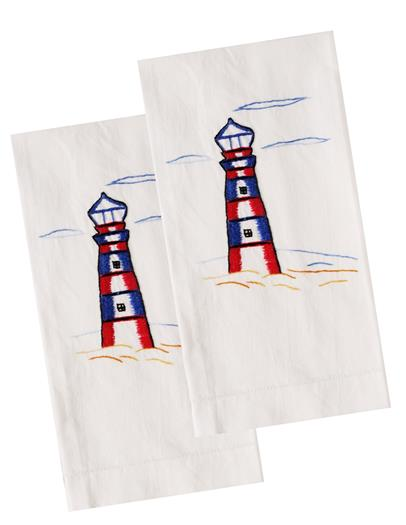 Lighthouse Guest Hand Towels