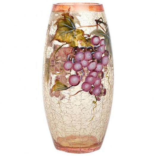Murano Glass Vase With Beautiful Grapes