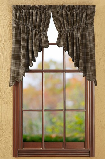 decorative swags curtains
