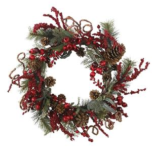 24'' Assorted Berry Wreath