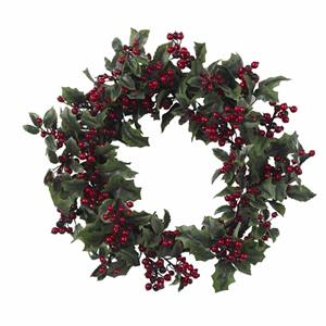 24'' Holly Berry Wreath