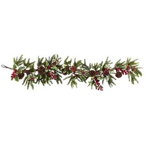 54'' Holly Berry Garland