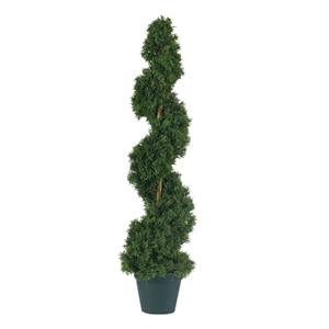 3' Cedar Spiral Silk Tree (Indoor/Outdoor)