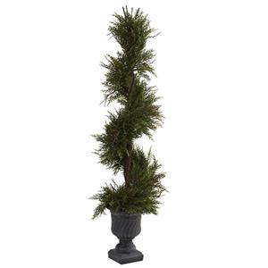 45'' Mini Pine Spiral w/Urn (Indoor/Outdoor)