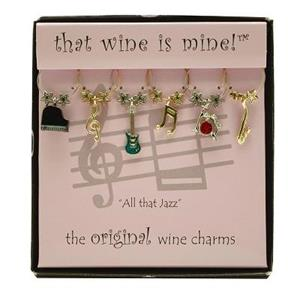 Wine Charms | All That Jazz