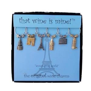Wine Charms - Around The World