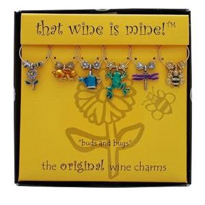 Wine Charms -  Buds & Bugs