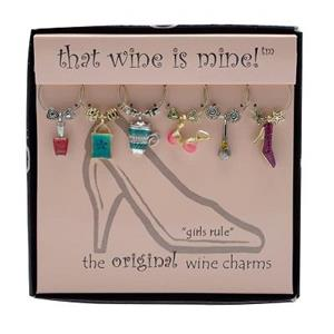 Wine Charms -  Girls Rule