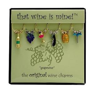 Wine Charms -  Grapevine