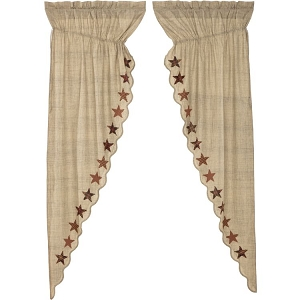 Abilene Star Prairie Long Panel (Set of 2)