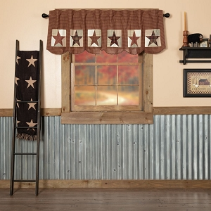 Abilene Patch Block and Star Valance