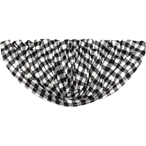 Annie Buffalo Check Balloon Valance