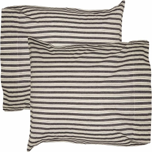 Ashmont Ticking Stripe Standard Pillow Case Set