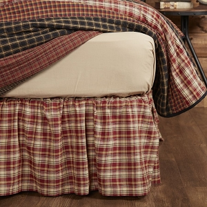 Beckham Plaid Bed Skirt