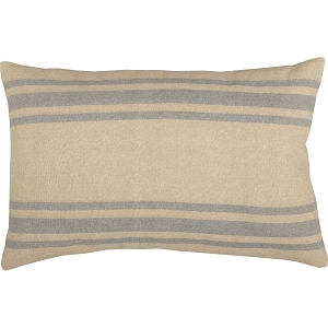 Farmer's Market Grain Sack Stripe Pillow 14 x 22