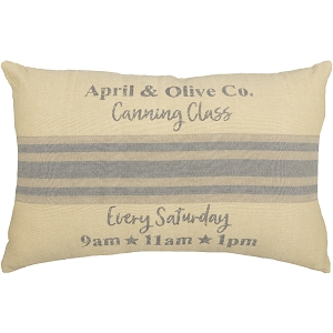 Farmer's Market Canning Pillow 14 x 22