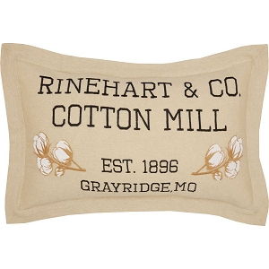 Ashmont Cotton Mill Pillow 14 x 22