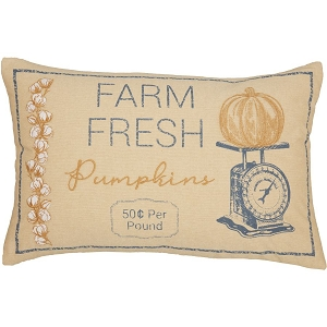 Ashmont Pumpkin & Scale Pillow 14 x 22