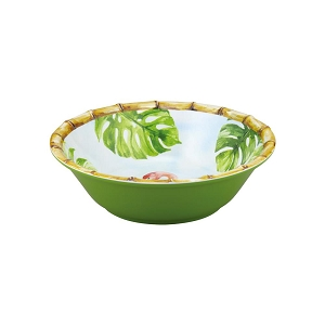 Bamboo Flamingo 7-1/2 Inch Melamine Bowl Set of 6