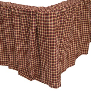Patriotic Patch Bed Skirts