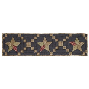Arlington Runner Quilted Patchwork Star