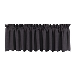 Arlington Lined Valance - Scalloped Hemline