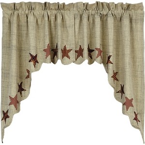 Abilene Star Swag Set (36x36x16)
