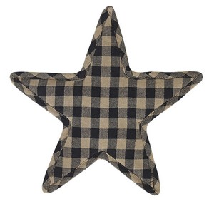 Black Star Trivet -  Star Shape