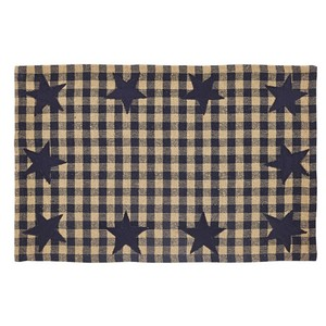 Navy Star Placemats - Set of 6