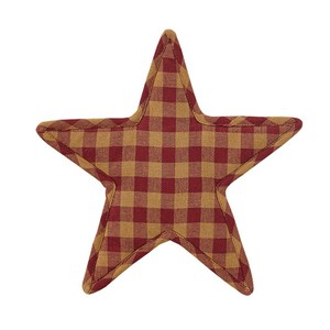 Burgundy Star Trivet - Star Shape 10''