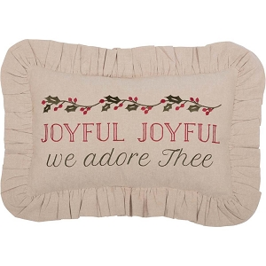 Carol Joyful Pillow 14x22