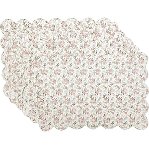 Carol Quilted Placemats - Set of 6